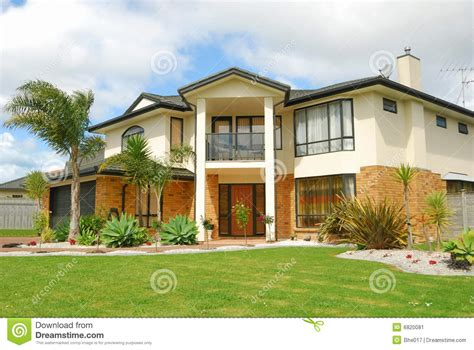 Brand New Show Home Stock Image Image Of Estate, Curb