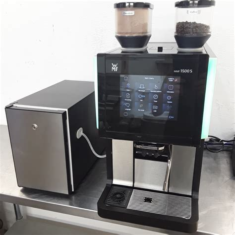 • the vending machine has not been remanufactured, but all necessary repairs have been made and bad parts replaced. Used WMF 1500S Bean to Cup Coffee Machine 33cmW x 60cmD x ...