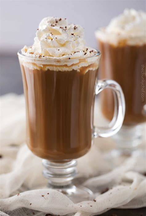 I like cream in my coffee, and i usually get flavored creamers. Easy Irish Coffee with Baileys Whipped Cream - The Chunky Chef