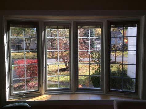 Pella Bow Window With Blindsbetweenglass