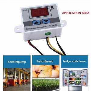 Heat Cool Temperature Controller Outlet Thermostat