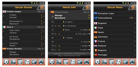 Latest football results and soccer livescore, head to head statistics, tables and fixtures. LiveScore app