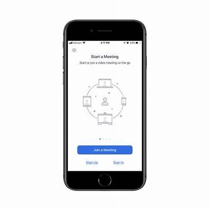 Meeting Zoom Iphone Join Ipad Using App
