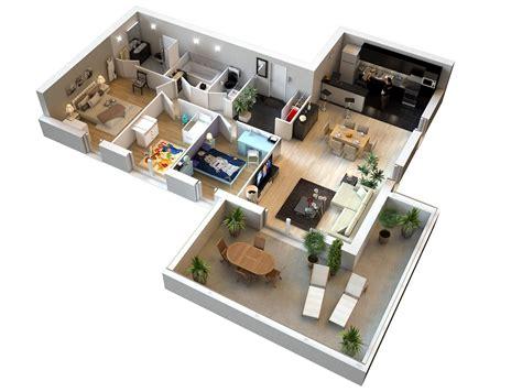 appartement 3 chambres plan appartement 2 chambres appartement n 307 riva