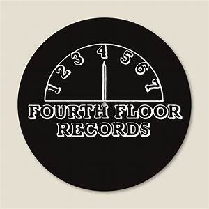 4 to the floor presents sub urban records vinyl slipmat With fourth floor records