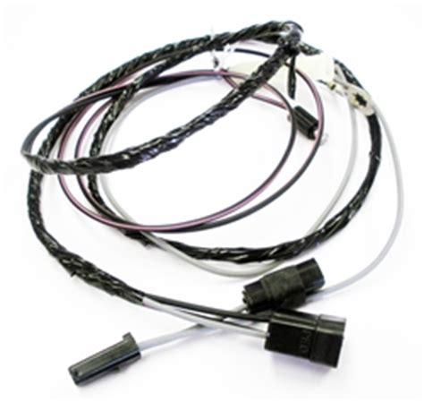 Firebird Tachometer Wiring Harness For Hood Tach