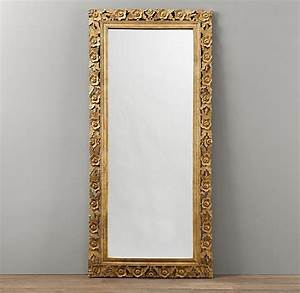 Vintage Hand-Carved Full Length Mirror | Mirrors ...