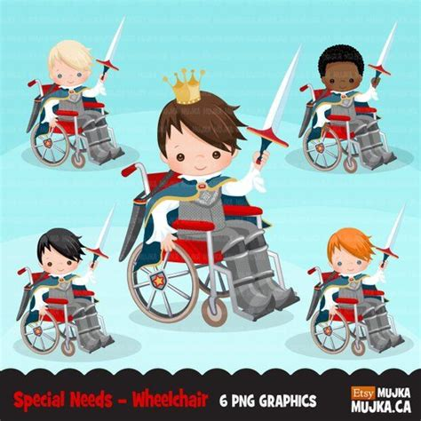 special  wheelchair clipart royal prince clipart