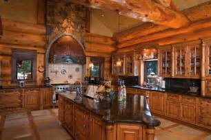 kitchen tree ideas amazing log home brimming with sophisticated electronic systems home design garden
