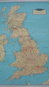 Original Railway Poster British Railways Network System ...