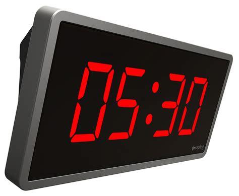 Wanduhren Digital by Sbt Series Digital Talkback Clock Sapling Clocks