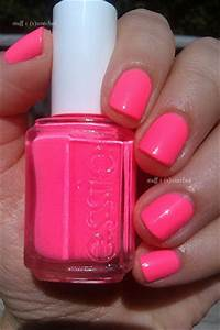 SUMMER Nails It s all about NEON Pink The Secret Obsession