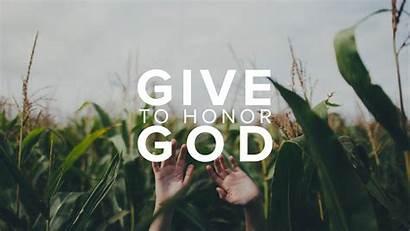 God Honor Give Ccf Fellowship Christ