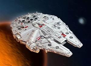 Faucon Millenium Star Wars : les mocs lego star wars de marshal banana ~ Melissatoandfro.com Idées de Décoration