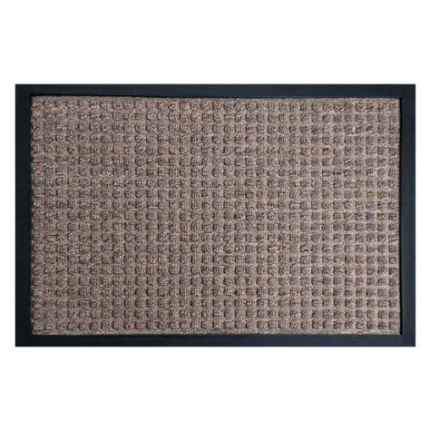Brown Rubber Door Mat by Rubber Cal Nottingham Brown 48 In X 72 In Rubber Backed