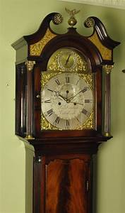 Scottish, Mahogany, Longcase, Grandfather, Clock, Dalgliesh, Edinburgh, For, Sale, At, 1stdibs