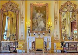 Buckingham Palace Drawing Room | Yellow | Pinterest