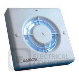 "Manrose Xf100lvsb 100mm 4 "" 12 Volt Bathroom Fan & Transformer"