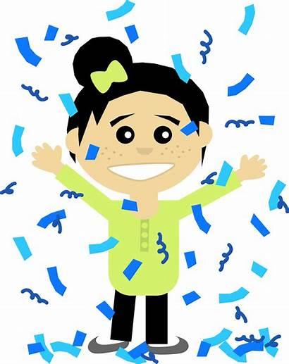 Winner Confetti Clipart Vector Nursing Joy Transparent