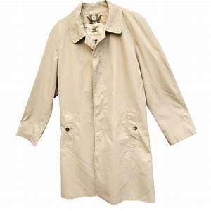 Trench Coat Burberry Homme : manteaux homme burberry trench coat polyester beige joli closet ~ Melissatoandfro.com Idées de Décoration