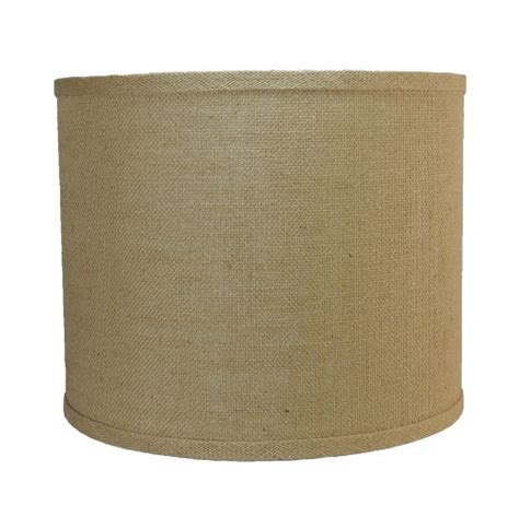 urbanest burlap drum lshade 16 2daydeliver fast free reliable shopping on line
