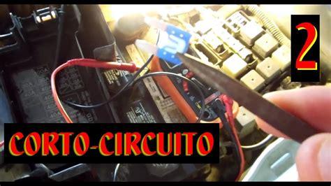 diagnostico de corto circuito en luces exteriores