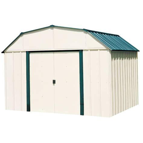 home depot storage sheds metal arrow vinyl steel storage building 10 ft x 14