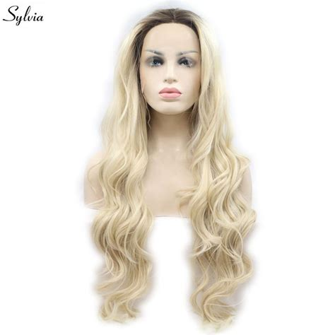 Buy Sylvia Blonde Synthetic Lace Front