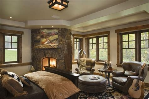 Rustic Country Bedroom Decorating Ideas With