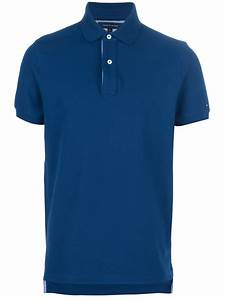 Tommy Hilfiger Classic Polo Shirt in Blue for Men (navy ...