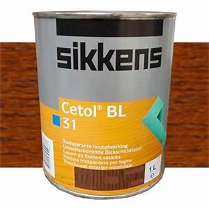 Peinture Sikkens Avis : lasure sikkens cetol bl 31 ch ne fonc 009 pas cher en ligne ~ Dallasstarsshop.com Idées de Décoration