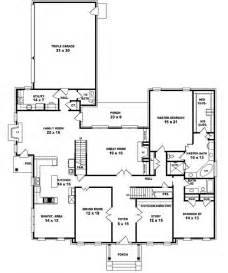 5 bedroom one story house plans 653902 two story 5 bedroom 4 5 bath traditional colonial style house plan house plans
