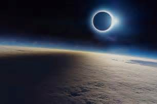 Total Solar Eclipse From Space