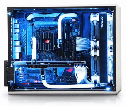 Mini Gaming Cooled Liquid Pc Custom Computer