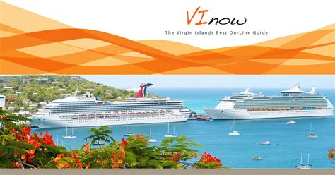 U.S. Virgin Islands Cruise Ship Schedule