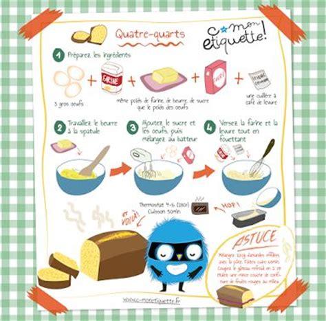 dessert facile pour enfant le quatre quarts mon cahier de recettes illustrees