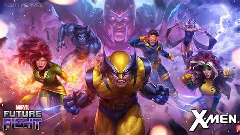 Palpitando La Llegada De Los Xmen En Marvel Future Fight