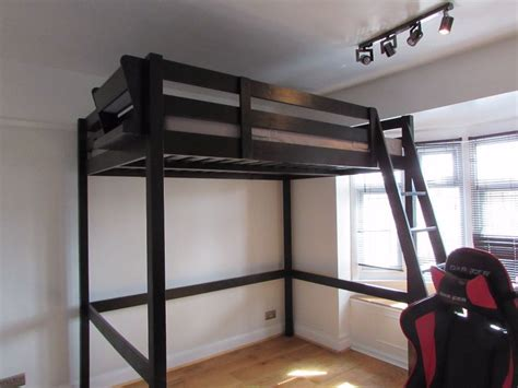 Ikea Stora Loft Bed by Ikea Stora Loft Bed And Mattress High Sleeper In