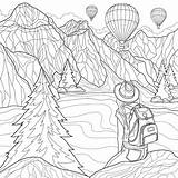Coloring Pages Adults Places Travel Scenic Printable Want Escape 30seconds Xx Computer Tip sketch template