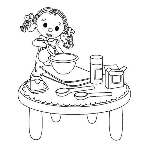 tablier de cuisine fait 小孩做家务简笔画 2 可可简笔画