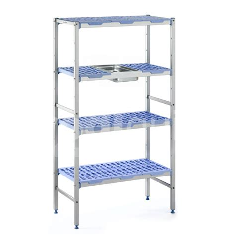 etagere pour chambre froide rayonnages alimentaires modulables pour chambre froide