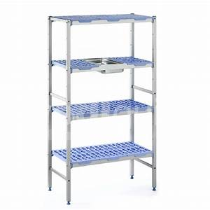 rayonnages alimentaires modulables pour chambre froide With montage etagere chambre froide