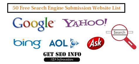 web submissions search engine submission site