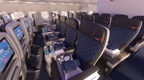 what does recline delta gives look of premium economy cabin set for
