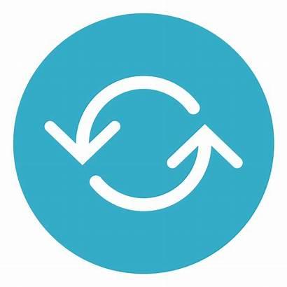 Icon Change Transparent Management Circle Icons Changer