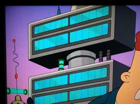 scifi building futurama googie futurama space travel