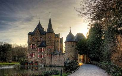 Castle Medieval Desktop Wallpapers Backgrounds Ancient Definition