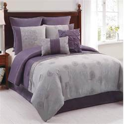 lavender and grey bedding details about duchess plum and gray comforter set