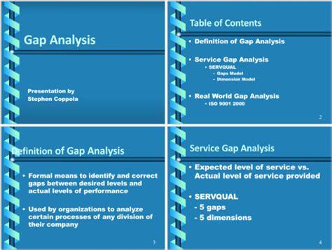 data gap analysis template  templates  excel