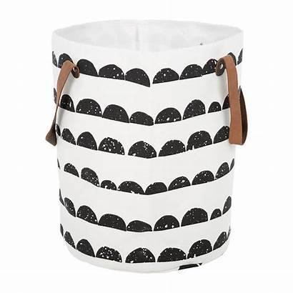 Cotton Basket Amara Organic Moon Half Baskets